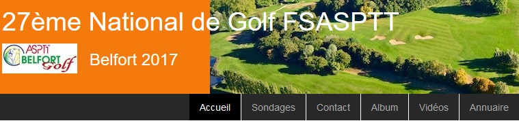 27 ème édition Nationale Golf ASPTT